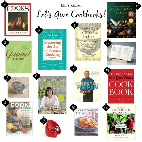 Let's Give Cookbooks!