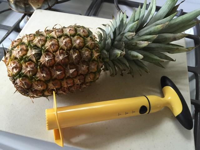 Pineapple Coring Gadget