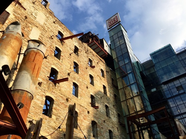 Mill City Museum Ruins